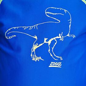 Zoggs Dino Land Top Manga Larga Protector Solar Niños, blue